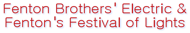 Fenton Brothers' Electric & Fenton's Festival of Lights logo
